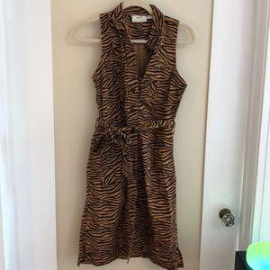 Animal print dress by Maeve